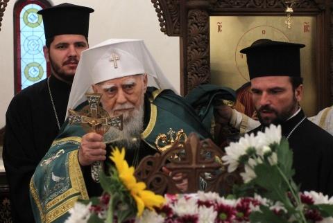 Bulgaria: Bulgaria's Patriarch Maxim Turns 98