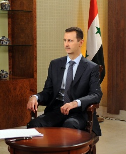 Bulgaria: Al-Assad Vows to Live and Die in Syria, Warns World of Domino Disaster