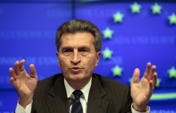 Bulgaria: Commissioner Oettinger: South Stream Is 'Interesting'