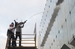 Bulgaria: European Parliament Sprayed with Milk