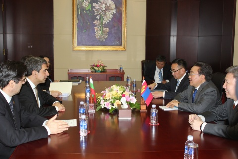 Bulgaria: Bulgaria, Mongolia to Boost Trade Ties