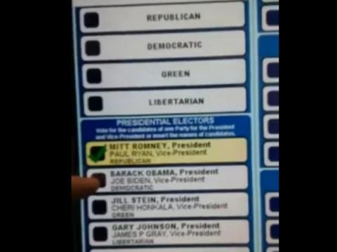Bulgaria: Pennsylvania Voting Machine 'Caught Cheating' in Romney's Favor
