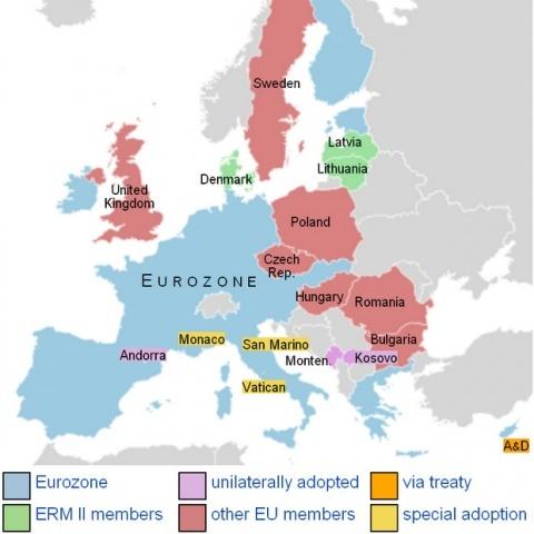 Bulgaria: Latvia on Road to Adopt Euro in 2014