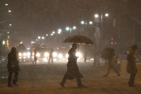 Sandy-Embattled US East Coast Hit by New Storm: Sandy-Embattled US East Coast Hit by New Storm