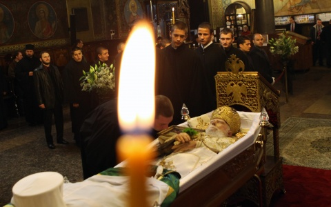 Bulgaria: Body of Late Bulgarian Patriarch Departs to Home Monastery