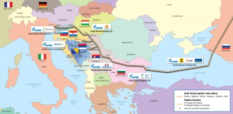 Bulgaria: Bulgaria Signs South Stream Gas Pipeline Deal with Gazprom
