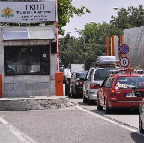 Bulgarian - Turkish Border Still Clogged by Truck Traffic: Bulgarian - Turkish Border Still Clogged by Truck Traffic