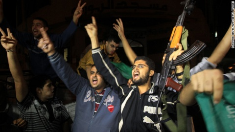Bulgaria: Jubilant Gaza Residents Celebrate Truce