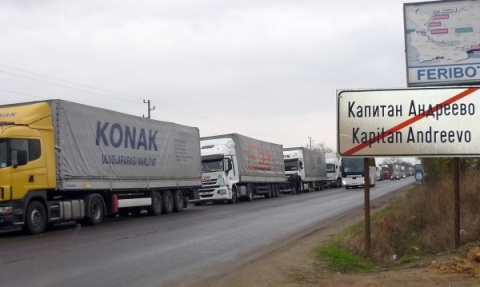 Bulgarian Checkpoint Repairs Jam Turkish Border Again: Bulgarian Checkpoint Repairs Jam Turkish Border Again