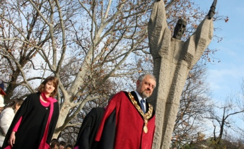 Sofia University Marks 124th Anniversary, Honors Patron: Sofia University Marks 124th Anniversary, Honors Patron