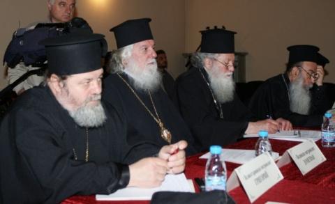 Bishop Nikolay Surprisingly Attends Bulgarian Holy Synod Sitting: Nikolay Surprisingly Attends Bulgarian Holy Synod Sitting