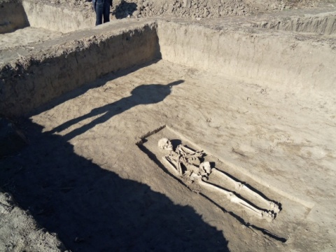 Ancient Necropolis Pops on Bulgaria - Romania Gas Connection Path: Ancient Necropolis Pops on Path of Bulgaria-Romania Gas Link