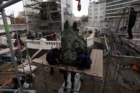 Bulgaria: Russian Tsar Alexander II Statue Returns to Sofia