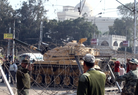 Bulgaria: Egypt Army Deploys Tanks over Protests against President Morsi