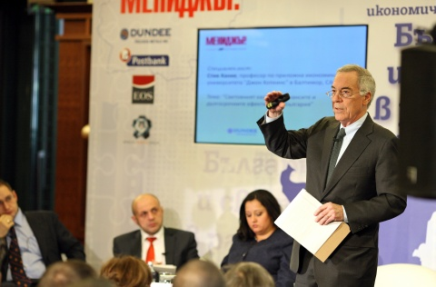 Bulgaria: Hanke: Bulgaria Performs a Bit Better than Average