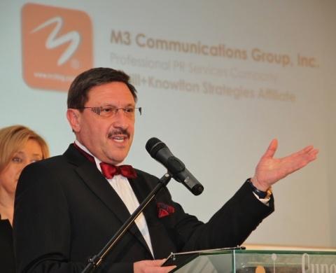 M3 Communications Group Wins Strongest PR Brand in Bulgaria Award: M3 Communications Group Declared Top Bulgarian PR Brand