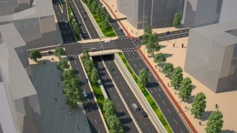 Bulgaria: Bulgaria's Sofia Gets Brand New Overpass