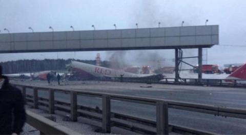 Bulgaria: Russian Passenger Plane Crash Lands at Moscow Airport