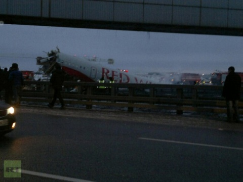 Bulgaria: 4 Dead, 4 Critical after Crash Landing at Moscow Airport