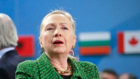 Bulgaria: Hillary Clinton Hospitalized with Blood Clot