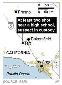 Bulgaria: Shooting at Californian School