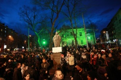 Bulgaria: Bulgarian Eco Activists Rally against GERB Govt in Sofia