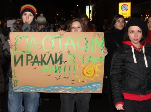 Bulgaria: Bulgarian Minister Halts Construction on Irakli Beach after Mass Protest