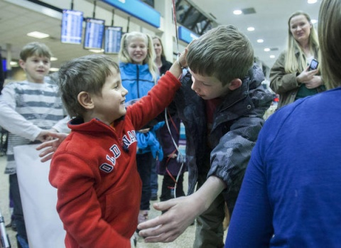 Bulgaria: Lehi Family Brings Adopted Child Home from Bulgaria