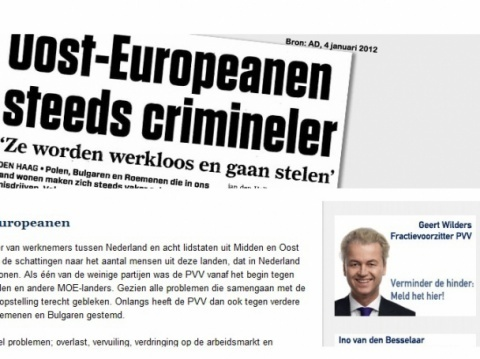 The Party for Freedom (<b>PVV</b>)'s xenophobic website was not a huge success in the Netherlands. File photo