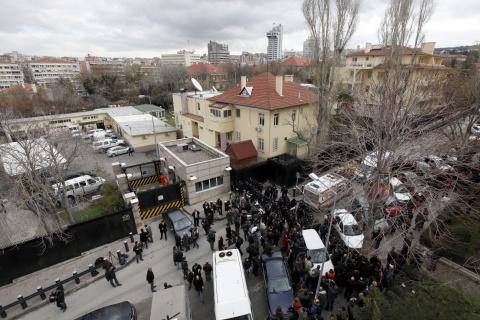 Bulgaria: Radical Left Group Takes Responsibility for Ankara US Embassy Blast