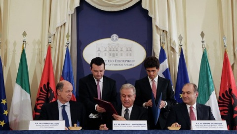 Bulgaria: Greece, Albania, Italy Sign Trans-Adriatic Pipeline Deal