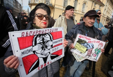 Bulgaria: Fresh Protests against Power Utilities Staged in Bulgaria's Capital