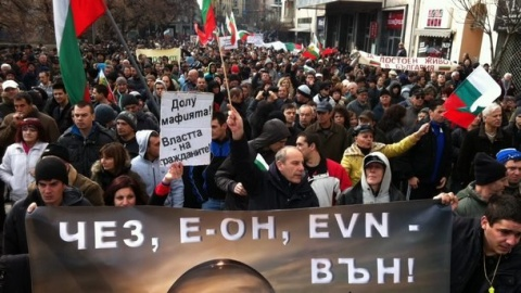 Bulgaria: Mass Protest against Monopolies Sweep Bulgaria's Capital