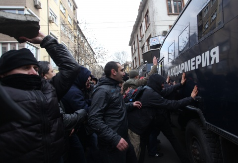 Bulgaria: Bulgaria's Interior Accuses Protesters of Spurring Police Brutality