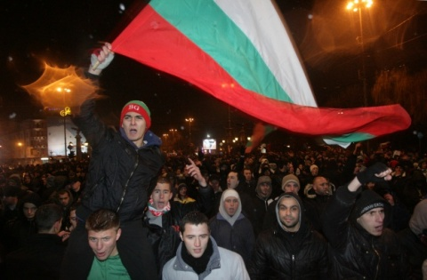Bulgaria: Pro, Anti-Govt Protesters Meet in Front of Parliament Building in Sofia
