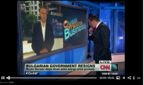 Bulgaria: Socialist Leader for CNN: Bulgarians Can't Stand It Anymore