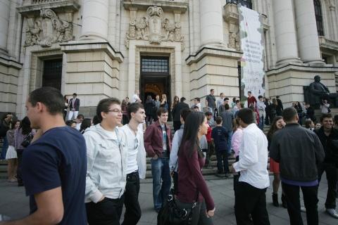 Bulgaria: Sofia University Students Protest Fee Hike