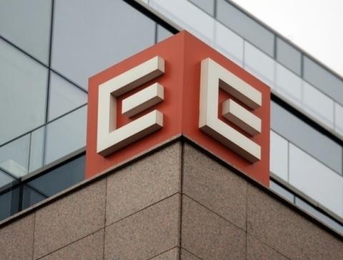 Bulgaria: Gendarmerie Storm Power Distributor CEZ HQ in Sofia
