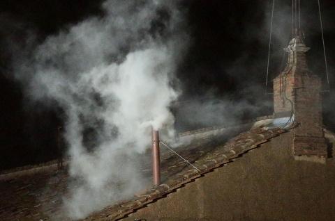 Bulgaria: White Smoke Rises as Cardinals Elect New Pope