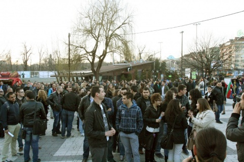 Bulgaria: College Students Join Protests in Bulgaria