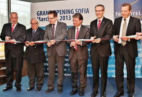 Bulgaria: Novotel Sofia Officially Inaugurated, Accor Upbeat on Bulgaria