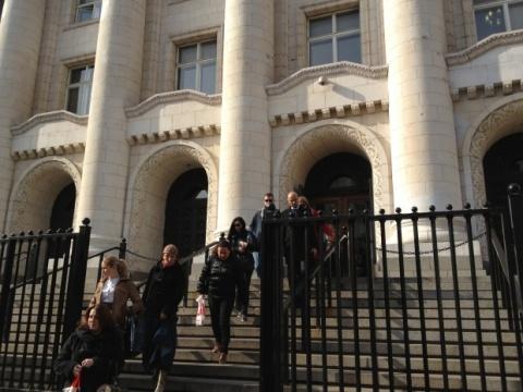 Bomb Threat Closes again Sofia's Main Courthouse: Bomb Threat Closes again Sofia's Main Courthouse