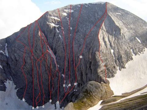 Bulgaria: Avalanche Swipes 4 Bulgarian Climbers Off Vihren North Wall