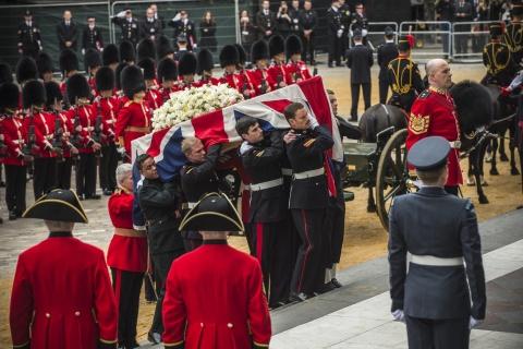 Bulgaria: British Queen Presides over Thatcher Funeral