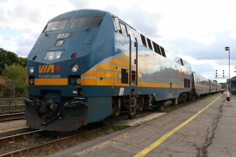 Canadian passenger railroad