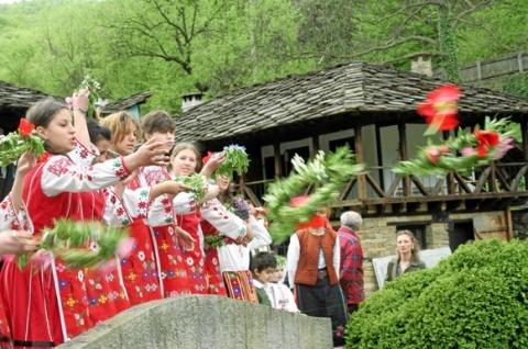 Bulgarians Celebrate Resurrection of Lazarus: Bulgarians Celebrate Resurrection of Lazarus