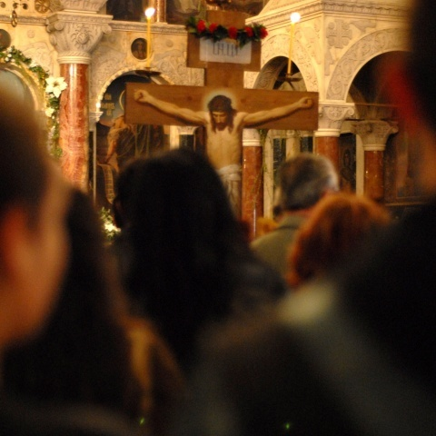 Orthodox Bulgarians Mark Solemnly Crucifixion Friday: Orthodox Bulgarians Mark Solemnly Crucifixion Friday
