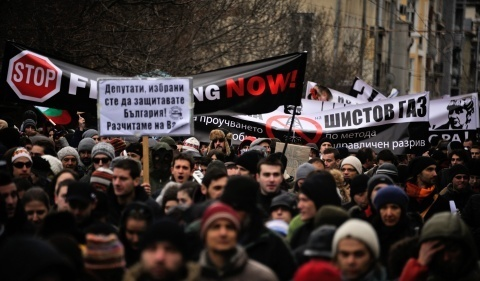 Bulgarians Rise against Romanian Shale Gas 'Fracking' Permit: Bulgarians Rise against Romania Shale Gas 'Fracking' Permit