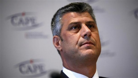 Bulgaria: Kosovo's PM Thaci Arrives in Bulgaria after Deal with Serbia