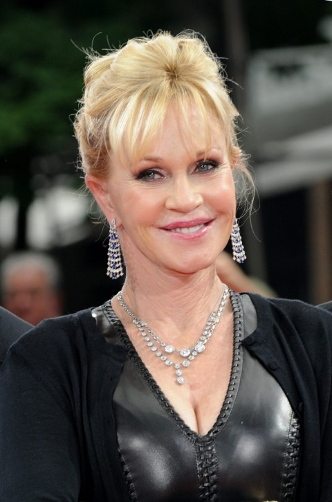 Bulgaria: Melanie Griffith Joins Hubby Banderas in Bulgaria